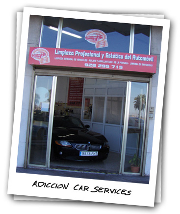 Fachada del local de Adiccion Car Services